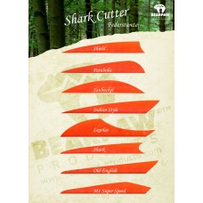 Bearpaw Shark Cutter Feather forms