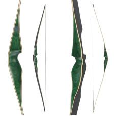 "JACKALOPE - Malachite - 62"" -  Hybridbow"