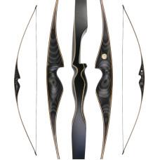"JACKALOPE - Obsidian - 68"" - Longbow"