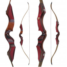 "JACKALOPE - Red Beryl - 64"" - Refined Recurvebow Take Down"