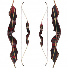 "JACKALOPE - Red Beryl - 64"" - Classic Recurvebow Take Down"