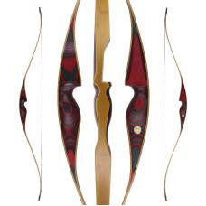"""JACKALOPE - Red Beryl - 64"""" - Hybridbow"""