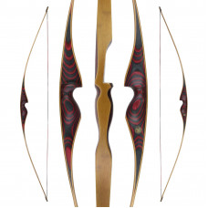 "JACKALOPE - Red Beryl - 68"" - Longbow"