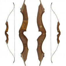 "JACKALOPE - Amber - 64"" - Refined Recurvebow Take Down"