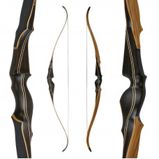 "JACKALOPE - Smoked Amber - 60"" - Recurve bow"