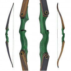 "JACKALOPE - Malachite - 60"" - Take Down Recurve- of Hybrideboog"